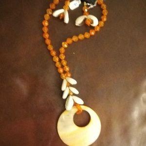 Jewelry - Women's Handmade Bohemian necklace set